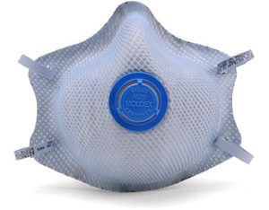 Moldex disposable acid gas respirator