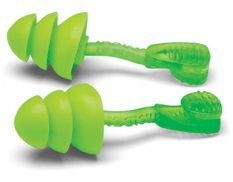 Glide Trio reusable earplugs