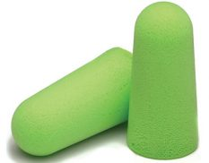 Pura-Fit long length disposable earplugs