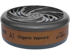 A1 organic vapour cartridge for Moldex respirators