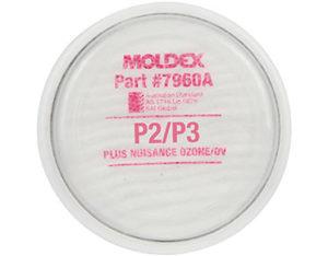 P2/P3 plus nuisance OV respirator filter disk