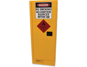 Flammable safety storage cabinet 170L