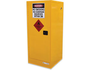 flammable liquids safety storage cabinet - 250L slimline