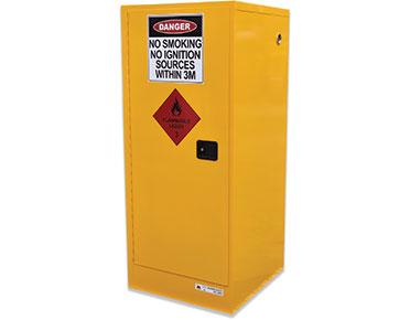 flammable liquids safety storage cabinet - 250L slimline