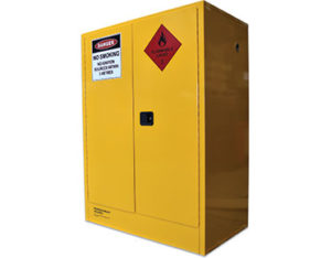 Flammable liquid safety cabinet 450L