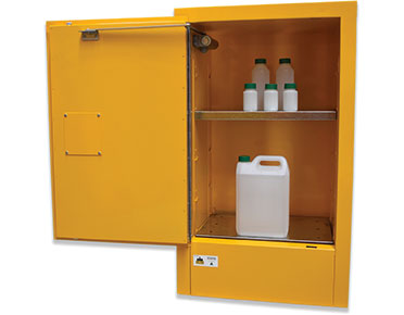 Flammable safety cabinet open - 60L