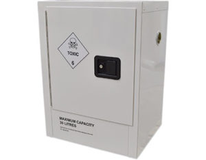 Toxic safety storage cabinet - 30 litres - Global Spill Control