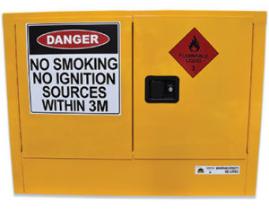 Flammable safety storage cabinet - 100L