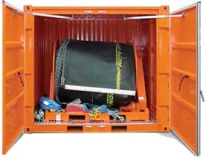Ready for Dispatch containerised boom and skimmer systems