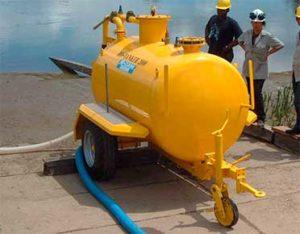Ro-Tanker mobile vacuum tank