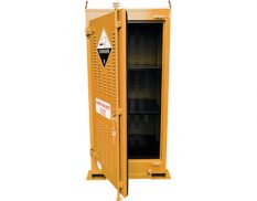 Outdoor dangerous goods store - safely and securely store up to 250L