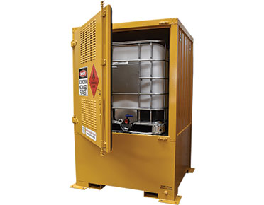 Flammable outdoor IBC store 1000L