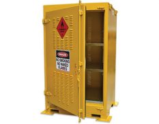Outdoor dangerous goods store - safely and securely store up to 350L