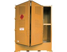Flammable outdoor dangerous goods storage cabinet 4000L