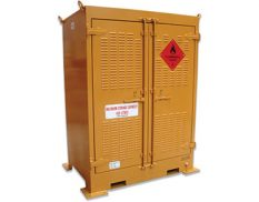 Outdoor dangerous goods store - safely and securely store up to 450L
