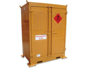Outdoor chemical storage unit - 450L