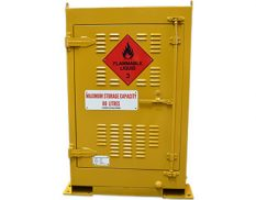 Outdoor dangerous goods store - safely and securely