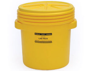 lab pack drum with screw lid
