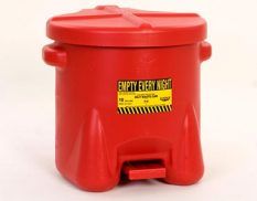 fire-safe waste can