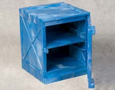 Corrosive bench top safety cabinet