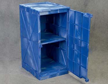 Corrosive safety storage cabinet - Polyethylene 45L