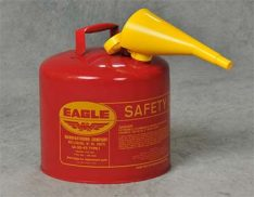 Funnelled safety can