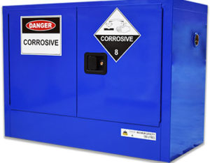Corrosive substances safety cabinet
