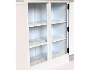 Poly corrosive storage cabinet - 250L