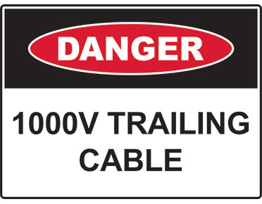 danger tailing cable