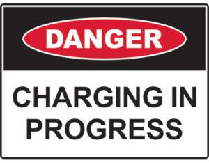 charging progress sign