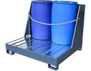 Heavy duty steel spill pallets