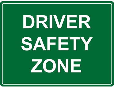 Driver Safety Sign For Workplace Safety By Global Spill Control