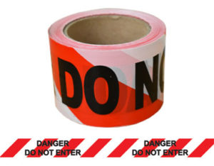 Danger barrier tape - do not enter