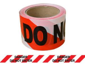 Danger barrier tape - do not enter