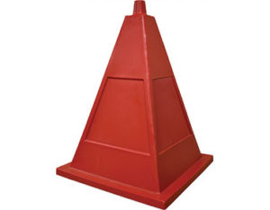 Safety pyramid cone - high-visibility traffic from Global Spill Control