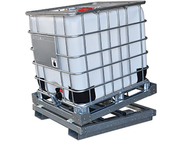 IBC tilt stand - spring loaded - Global Spill Control