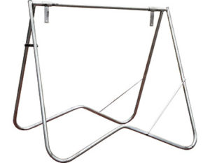Swing stand frame