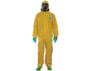 Lakeland reusable chemical coverall