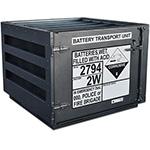 Battery transport unit
