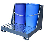 Heavy duty spill pallets