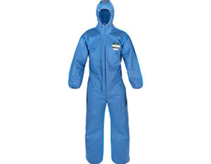 Lakeland SafeGard 76 blue disposable coveralls