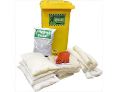 Spill kit oil and fuel organic cotton - up to 330L