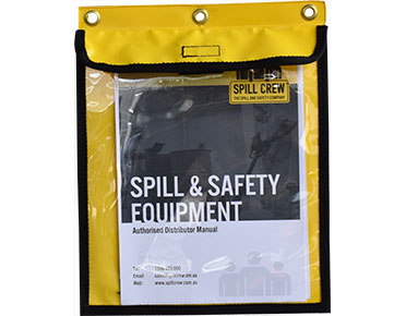 Safety document pouch