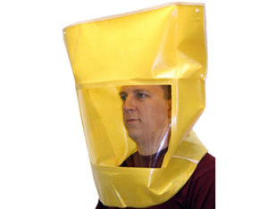 Respirator fit test hood