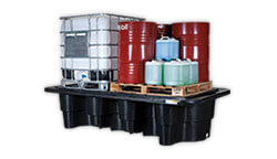 IBC spill pallets - Global Spill Control