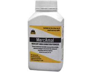 MercAmal mercury amalgamation powder