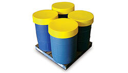 Spill control - drum protector lids