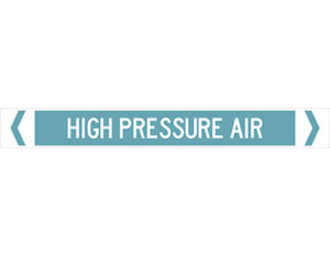 high pressure air pipe marker