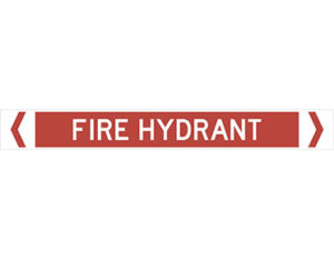 fire hydrant pipe marker