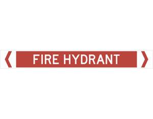 fire hydrant pipe marker